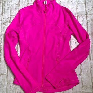 Lululemon magenta pink define jacket